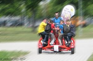 Conference Bike Ausflug mit Kindern