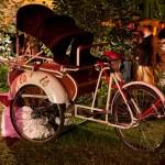 altertümliche Rikscha bei den Pedalhelden in München leihen