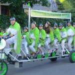Pedalhelden auf dem Weg zur 3. Radlnacht!