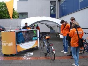 Innovativer Markentransfer mit BikeWash-Service