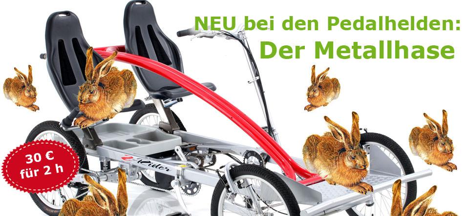 Metallhase – Der coole 2er-Cruiser, Neu in München