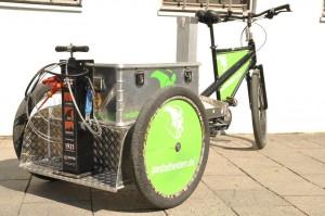 Pump&Fix- Bike mit Kiste